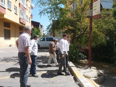 Bağcılar ilçesi AS Burçaklar Sitesi'nin Sorunlarını Dinledik.
