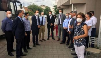 Eyüpsultan, Ümraniye, Maltepe ve Sultangazi'de ilçe ziyaretleri gerçekleştirildi.