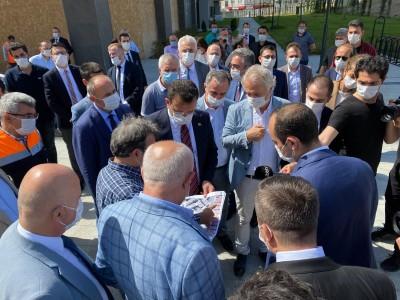 İBB Başkanı Ekrem İmamoğlu Bayrampaşa Projemizi yerinde inceledi